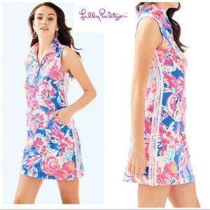 Lilly Pulitzer SKIPPER DRESS BENNET BLUE BAY DREAM